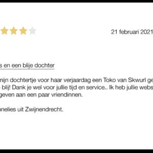 Review Annelies Zwijindrecht email