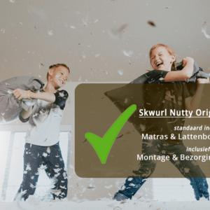Skwurl Steigerhouten Kinderbedden bezorging en inclusief
