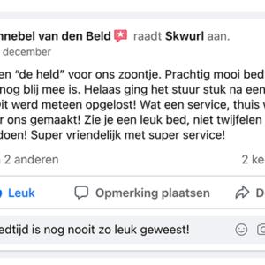 Skwurl Steigerhouten Kinderbedden Review test5